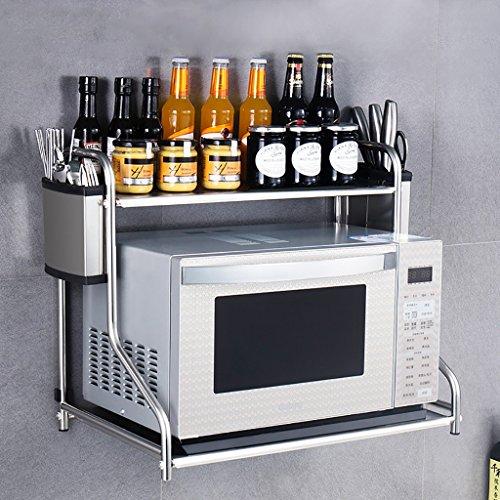Wandregale Für Küche amazon de küche lagerung und organisation küche regal mikrowelle
