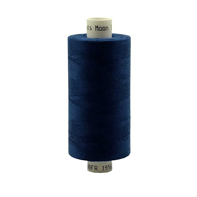 Reel 1000Yds Polyester Overlock Sewing Thread for Sewing Machine Colorful