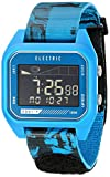 Electric Men's EW0120020045 ED01 Tide Nato Band Digital Display Japanese Quartz Blue Watch