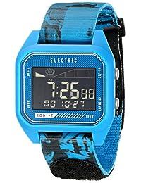 Electric Men's EW0120020045 ED01 Tide Nato Band Digital Display Japanese Quartz Blue Watch