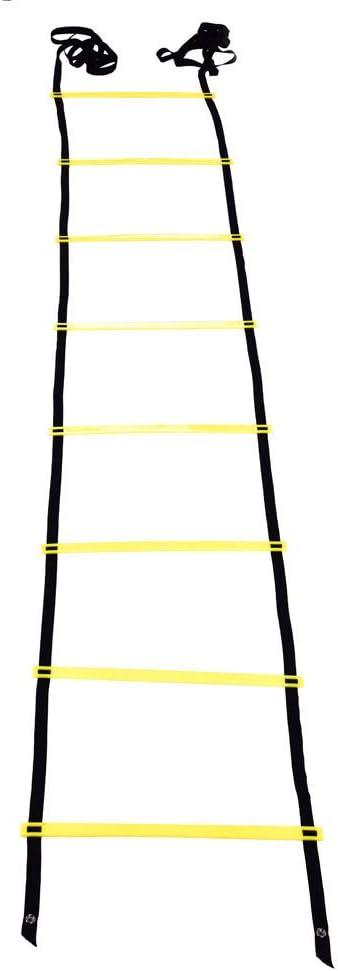 adultos Escalera de velocidad Zerone Agility entrenamiento de velocidad de f/útbol 4 m 8 pelda/ños para ni/ños
