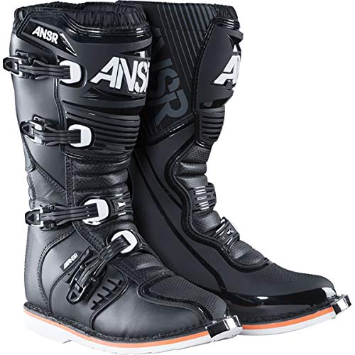 Answer 2019 AR-1 Race Boots (11) (BLACK) (Boots Motorcycle Oneal)