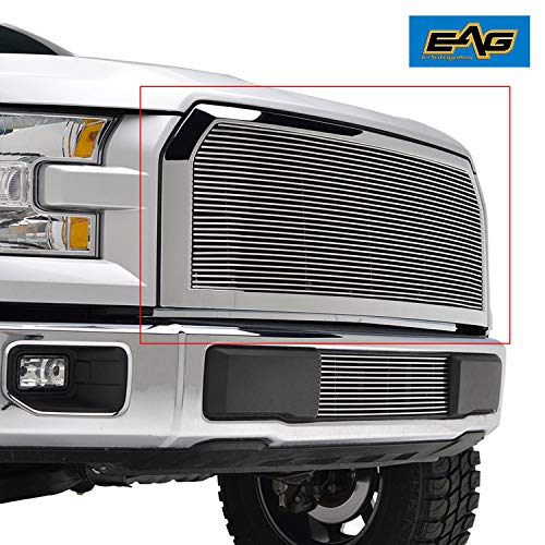 EAG Chrome Billet Grille+Shell for 15-17 Ford F150