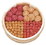 Sampler with 4 Different Types of Classic Umeboshi, 14.8oz