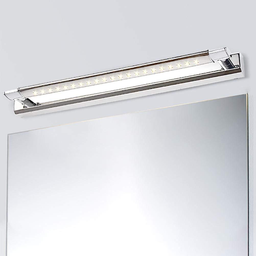 Eeayyygch Espejo Aplique de Pared LED para bantilde;o, bantilde;o, bantilde;o, luz de Espejo, 5W, Alto Brillo, 47 cm. (Color : Warm Light) 83bcd6