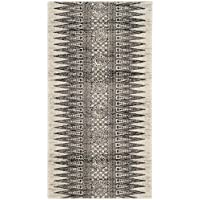 Safavieh Evoke Collection EVK226Z Bohemian Vintage Ivory and Silver Runner (22 x 7)