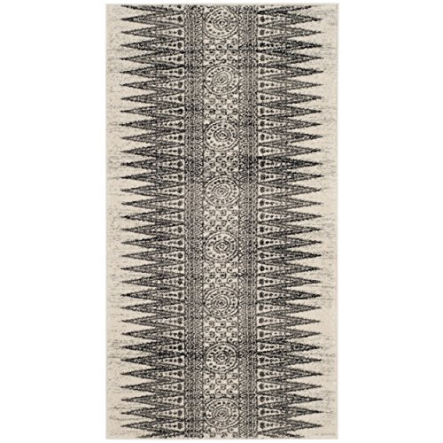 Safavieh Evoke Collection EVK226D Bohemian Vintage Ivory and Grey Area Rug (2' 2