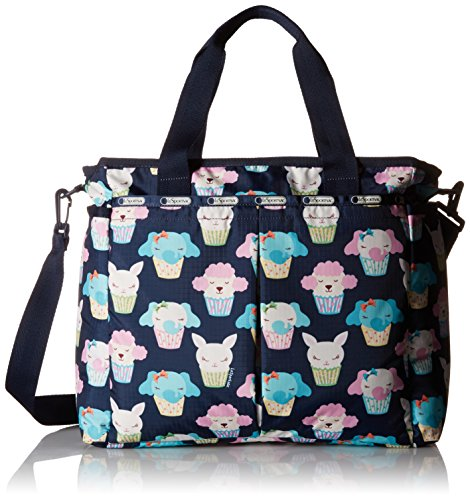 LeSportsac Ryan Diaper Carry On Bag, Baby Cakes Blue, One Size ()