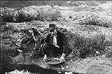 24x36 Poster; Alaskan Miner Panning For Gold, 1916