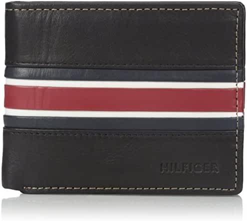 Tommy Hilfiger Men's Bolton Double Billfold Wallet