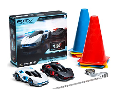 Rev Control (NCNY Woowee Full Velocity Package R.E.V Robot Enhanced Vehicles Race Car)