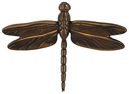 Michael Healy Designs MHS23 Dragonfly In Flight Door Knocker (Standard  Size), Oiled Bronze