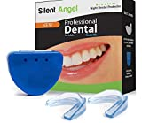 Professional Mouth Guard-(2pack) -Dental Protector for Bruxism, Tmj, Teeth Grinding and Clenching. All Orders Include Travel Case and Instruction. 100% Satisfaction Guaranteed!