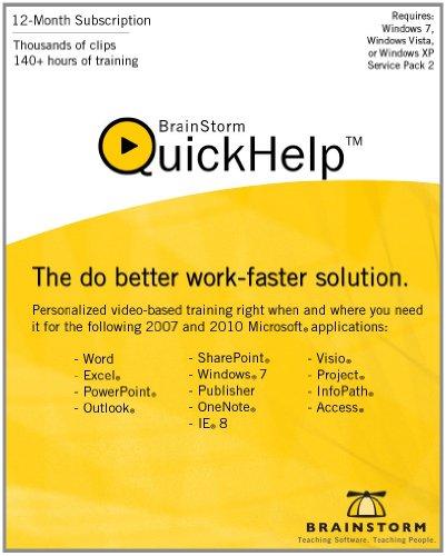 QuickHelp by BrainStorm, Inc.  [Download] by Brainstorm