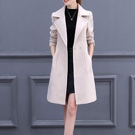abrigos largos de vestir mujer