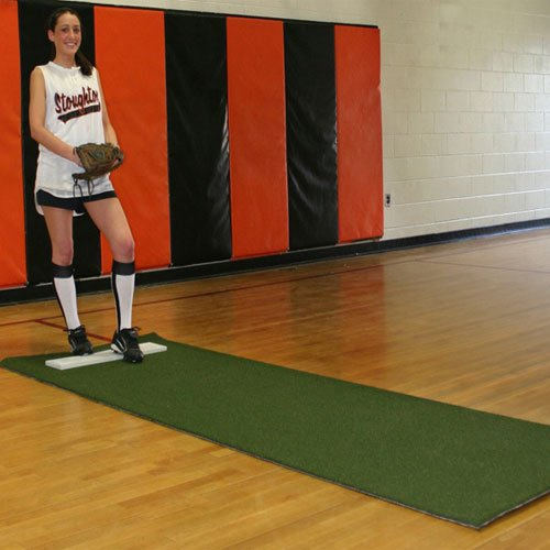 ProMounds Softball Pitching Mat with Non-Skid Back by ProMounds