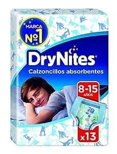DryNites - Calzoncillos absorbentes para niños de 8 - 15 años, 2 paquetes x 13 calzoncillos