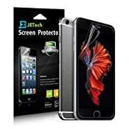 iPhone 6 Screen Protector, JETech 3-Pack iPhone 6S/6 Screen Protector Film HD Clear Retail Packaging for Apple iPhone 6s and iPhone 6 4.7 Inch (HD Clear)