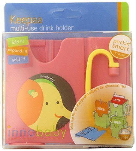 Innobaby Packin' SMART Keepaa Juice Box Holder, Strawberry by Innobaby [並行輸入品]   B01BM2KA7W