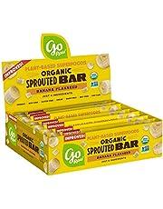 Go Raw Seed Bars, Banana Flaxseed   Keto   Gluten Free Snacks   Vegan   Organic   Paleo   Superfood (10 Bars)