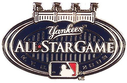 Pin Game Star All (2008 MLB All-Star Game Logo Pin - Yankee Stadium)