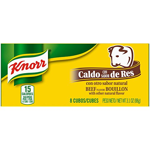 Knorr Beef Bouillon Cubes - Knorr Cube Bouillon, Beef, 3.1 oz, 8 ct, Pack of 24