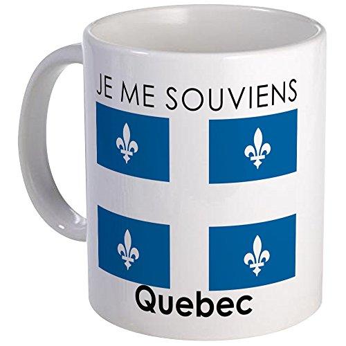CafePress Je Me Souviens Quebec Mug Unique Coffee Mug, Coffee Cup (Best Of Quebec City)