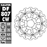 11-17 DUCATI DIAVEL: Galfer Floating Wave Brake Rotor - Front (10)