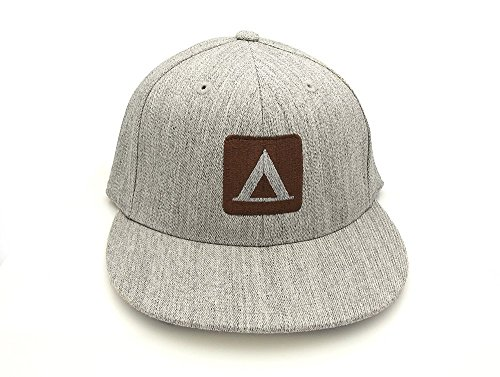Men's/Unisex Hat - Campsite- FlexFit Hat - Fitted & Snapback Options Available