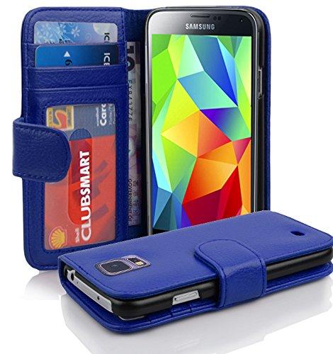 8 opinioni per Cadorabo- Custodia Book Style Design Portafoglio per Samsung Galaxy S5 / S5 NEO