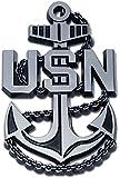 US Navy Anchor Auto Emblem