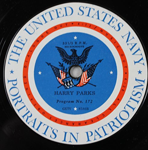 Portraits in Patriotism: Harry Parks Program No. 172 / Arlington National Cemetery Program No. 171 (Vinyl 45, 7 - Parks Arlington Of