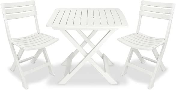 PRO GARDEN Progarden 4666 - Conjunto de Muebles de Patio: Amazon ...