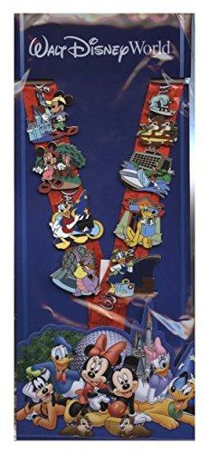 Disney Pin - Parks and Resorts Deluxe Lanyard and Pin Starter Set - Walt Disney World 78643