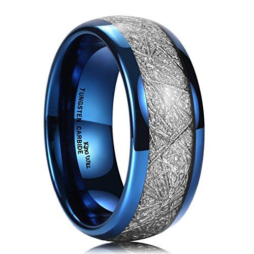King Will Meteorite Tungsten Engagement