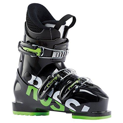 - Rossignol Comp J3 Kids Ski Boots 2019-22.5/Black-Green