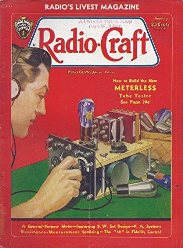 Radio Craft Magazine (January 1933)