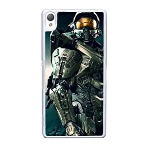 Sony Xperia Z3 Cell Phone Case White Halo 4 YT3RN2552373