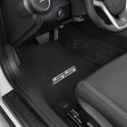 2012 2013 2014 Cadillac Escalade 2pc Ebony Mats W Logo NextDayShipping