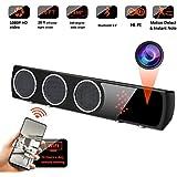 WiFi Spy Camera Bluetooth Speaker - Mini Spy Camera 1080p 160 Degrees Wide Angle - Hidden Spy Camera Motion Detection for Home