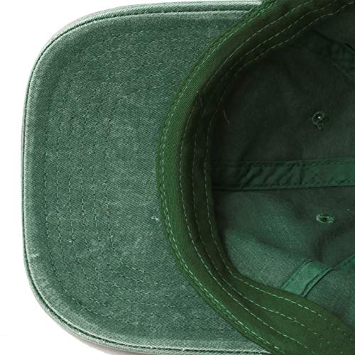 9dc8debf ... The Hat Depot 100% Cotton Pigment Dyed Low Profile Six Panel Cap Hat  (Green ...