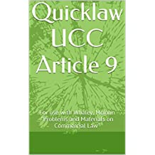 Quicklaw UCC Article 9
