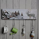 Hook Wall Paintin Hook Gift Arts and Crafts Creative Ornaments Home Furnishing Woodiness Decoration