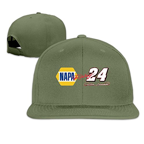 - YP Men' S Chase Elliott NAPA 24 Signature Racing Baseball Cap ForestGreen One Size