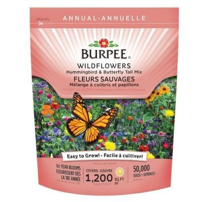Butterfly Wildflower Seed Mix (Wildflower Bag Hummingbird and Butterfly Mix)