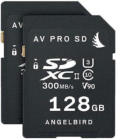 Tarjeta SD 128 GB, V60 Angelbird SD Card AV Pro UHS-II