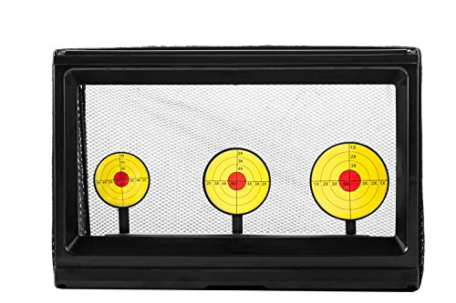 Ocean Loong 3-Plate Shooting Game Toy Electric Targeted, Automatic Spring Back Easy Shot for Battle Shooting Bullet Practice Gun Toys by Ocean Loong