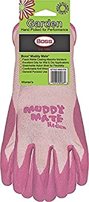 Boss 9401PS Small Bubble Gum Pink Muddy Mate Premium Gloves