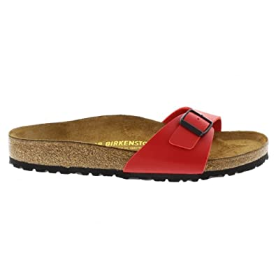 def04bc2b28f Birkenstock Madrid Red Cherry Womens Sandals Size 39 EU  Amazon.co.uk   Shoes   Bags