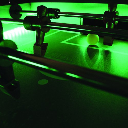 Best Foosball Tables - Warrior Professional LED Foosball Table